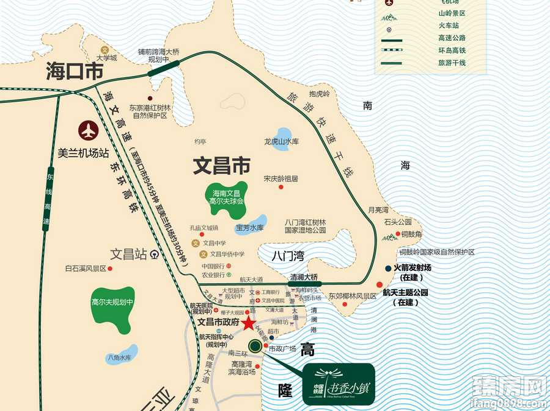 中国铁建书香小镇区位图