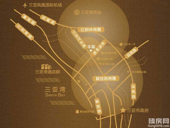 泽华上东海岸区位图