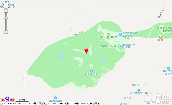 观澜湖·澜墅区位图